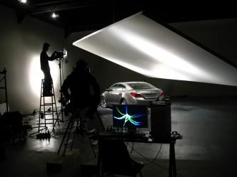 Buick photo shoot