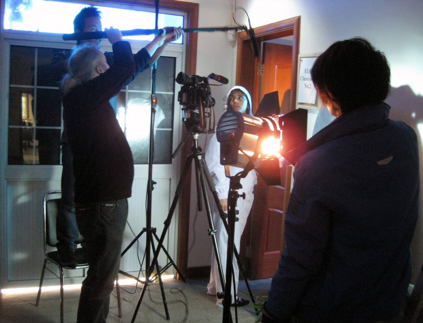 Each class will produce a short film according the number of students and the different locations available.
