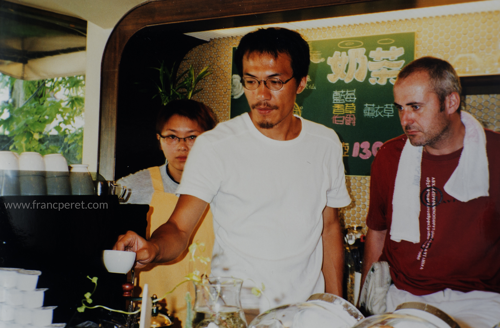 Due to language limitation at that time, with a script written in Chinese, we rehearsed all the scene before I decide the camera placement. (Summers, 2000)