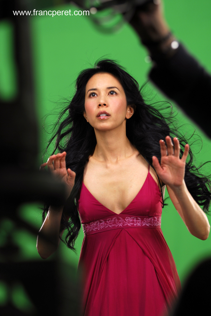 Franc had the chance to work with famous HKG artist Karen Mok.