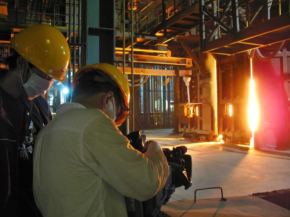 Industrial video Shoot for Baosteel Corporate video
