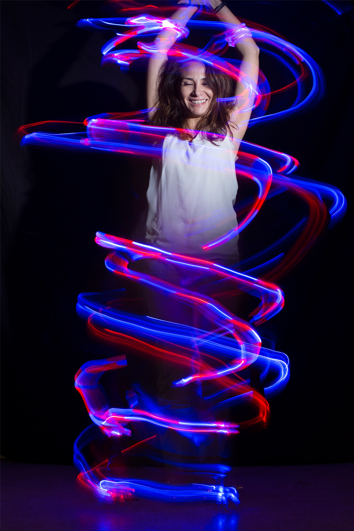 2014 Painting with light class picture von Julia Kretzschmar, Franc's Advanced photography Course student