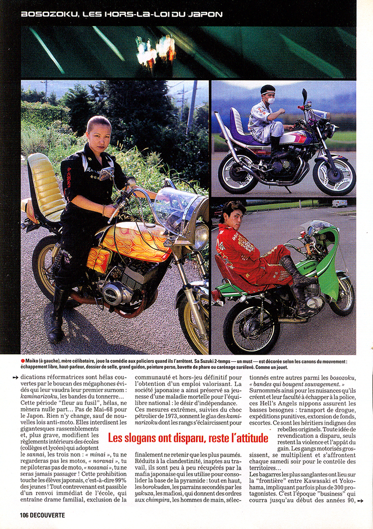Bosozoku in Moto Journal 3