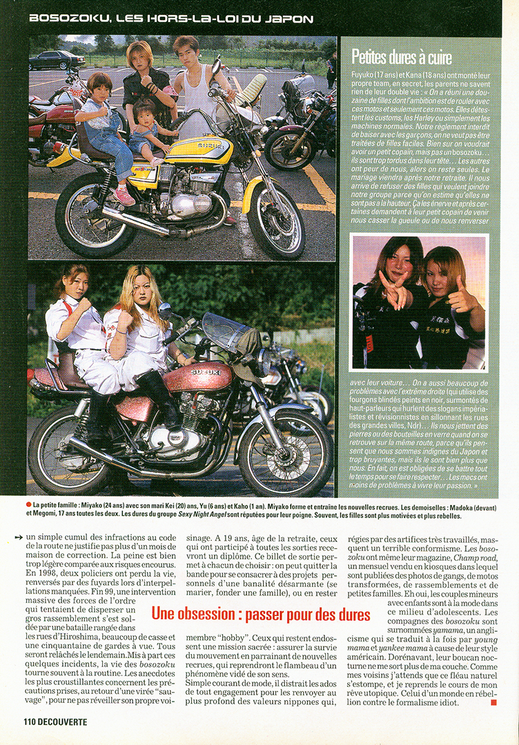 Bosozoku in Moto Journal 5