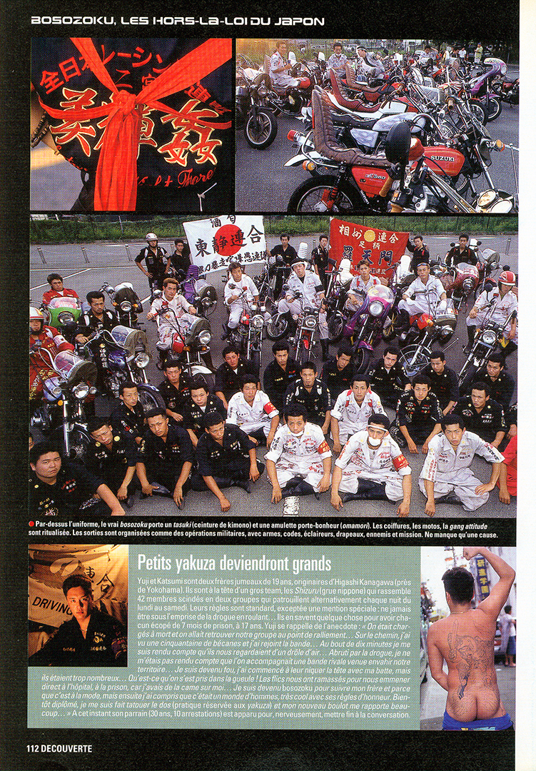 Bosozoku in Moto Journal 6