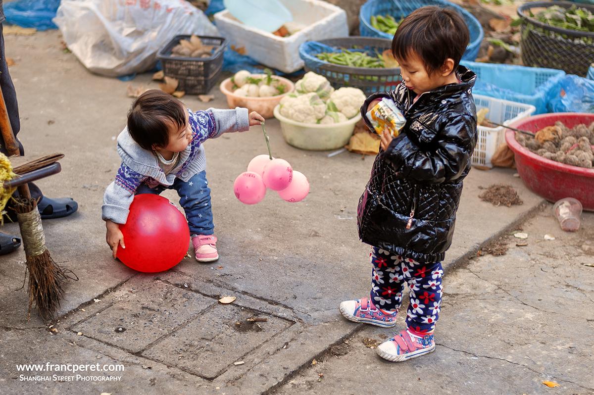 Ball and balloons