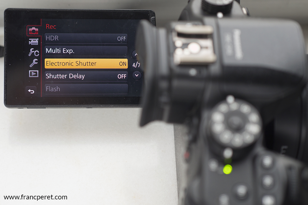 Silent shutter mode is a great option to NOT wake up the baby while shooting that close!